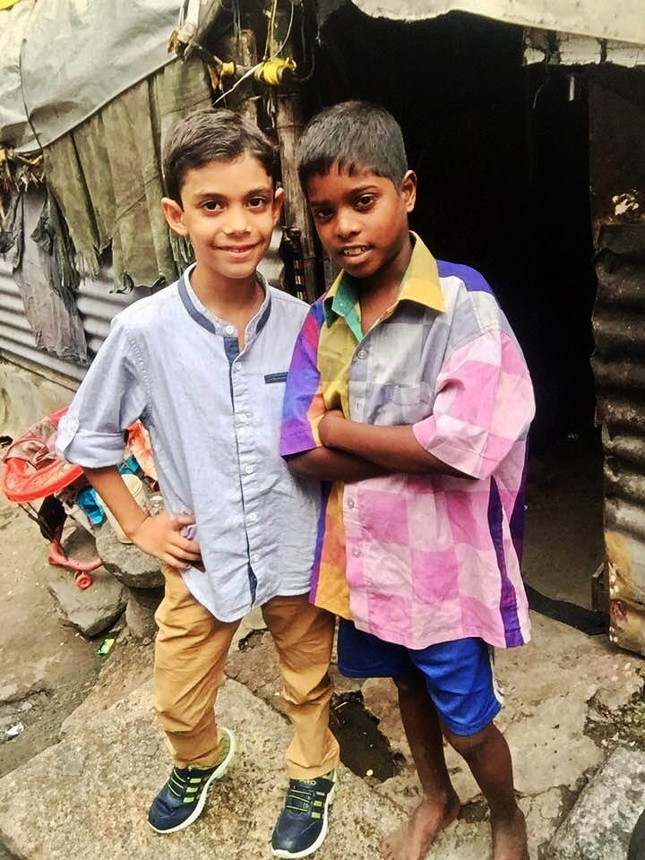 Paul and Molly, India, Christmas, slum, Isaiah