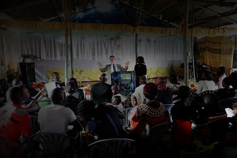 Steve Evers, Uganda