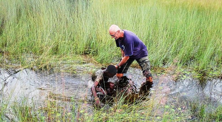 Zambia, Johan Leach, Baptism