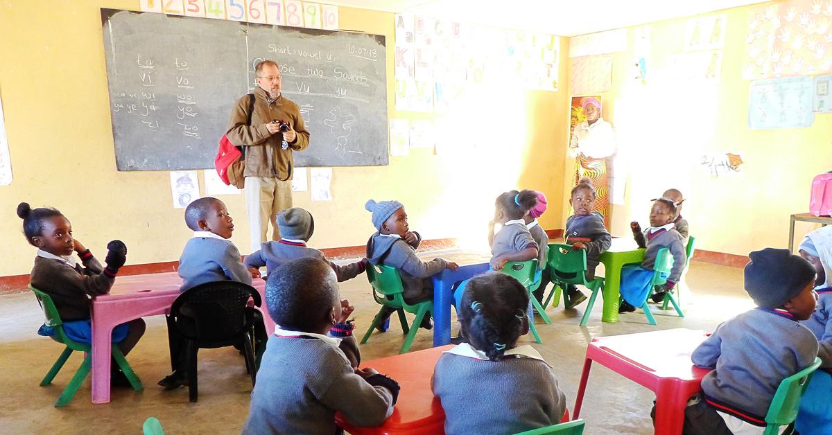 Kent Reisenauer, Zambia, ECA