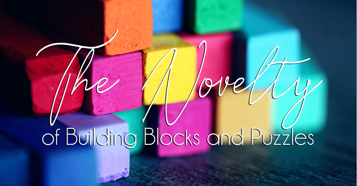 The Novelty of Building Blocks and Puzzles