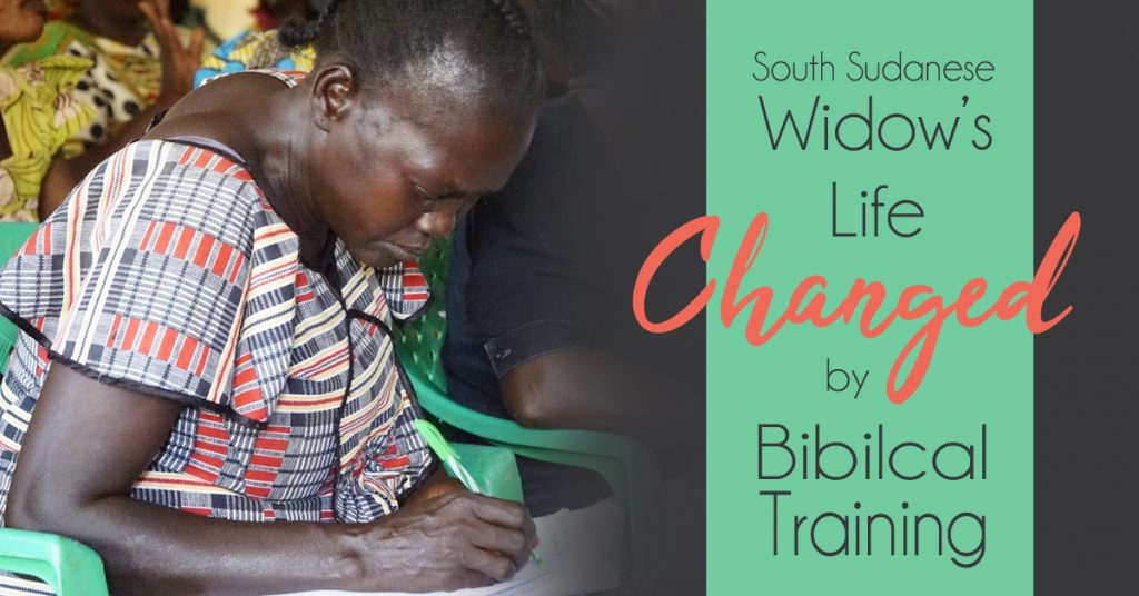 South Sudanese Widow's Life Changed by Biblical Training