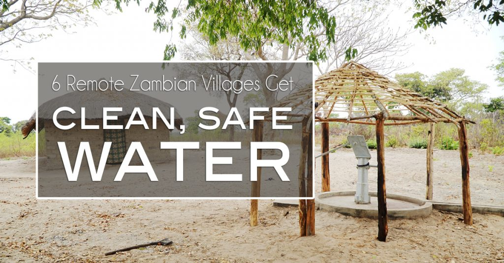 clean safe water zambia, johan leach