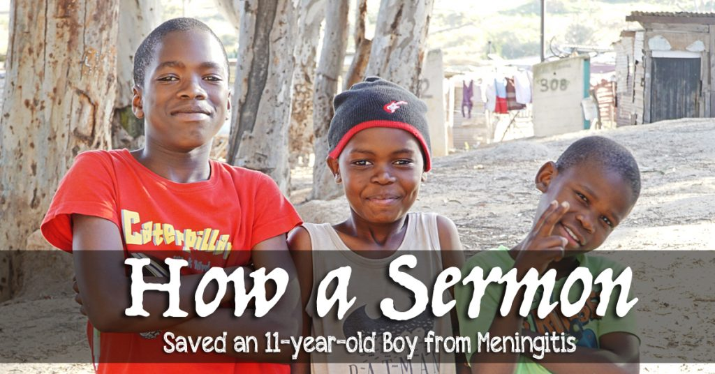 How a Sermon Saved an 11-Year-Old Boy from Meningitis