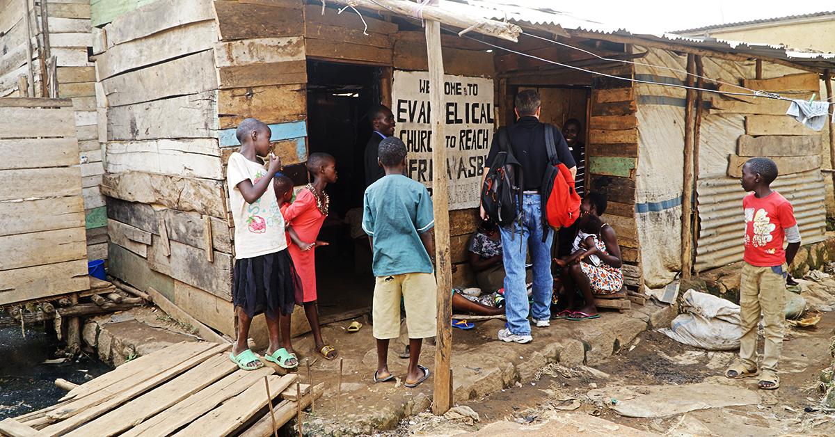 Katooga Slum, Uganda, Kent Reisenauer, Steve Evers, Francis