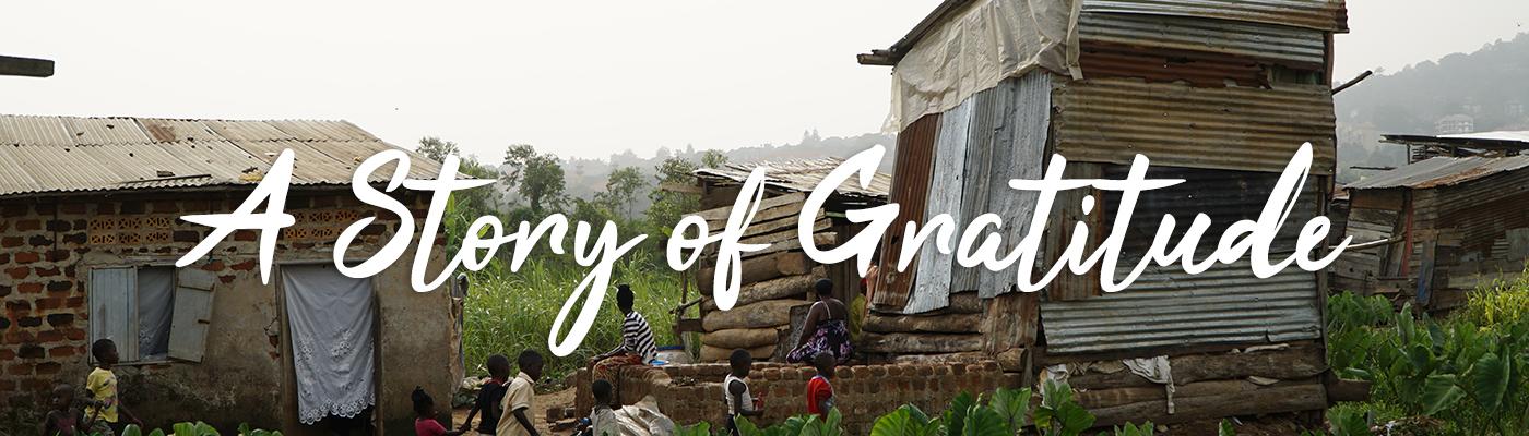 Slider, gratitude, francis, uganda