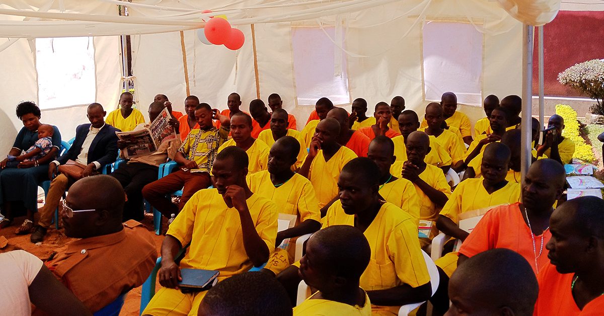 Uganda, Muhindo Kawede, International School of Missions, Portable Bible School, Kauga Prison