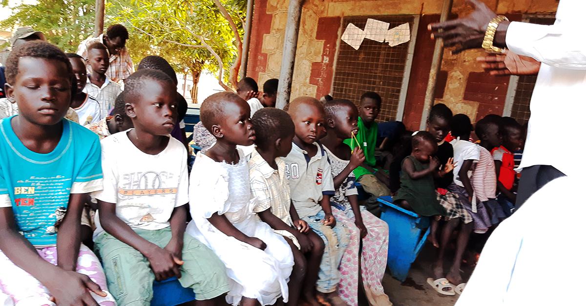 South Sudan, Orphans, Jahim Buli
