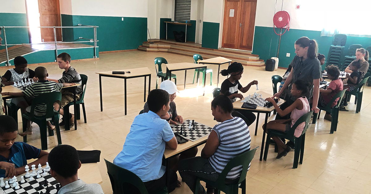 le roux, South Africa, Chess Club