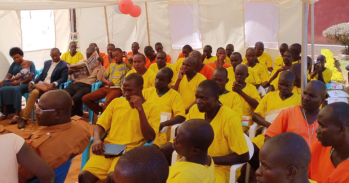 Muhindo Kawede, Uganda, Prison ministry, international school of missions, kauga prison, portable bible school