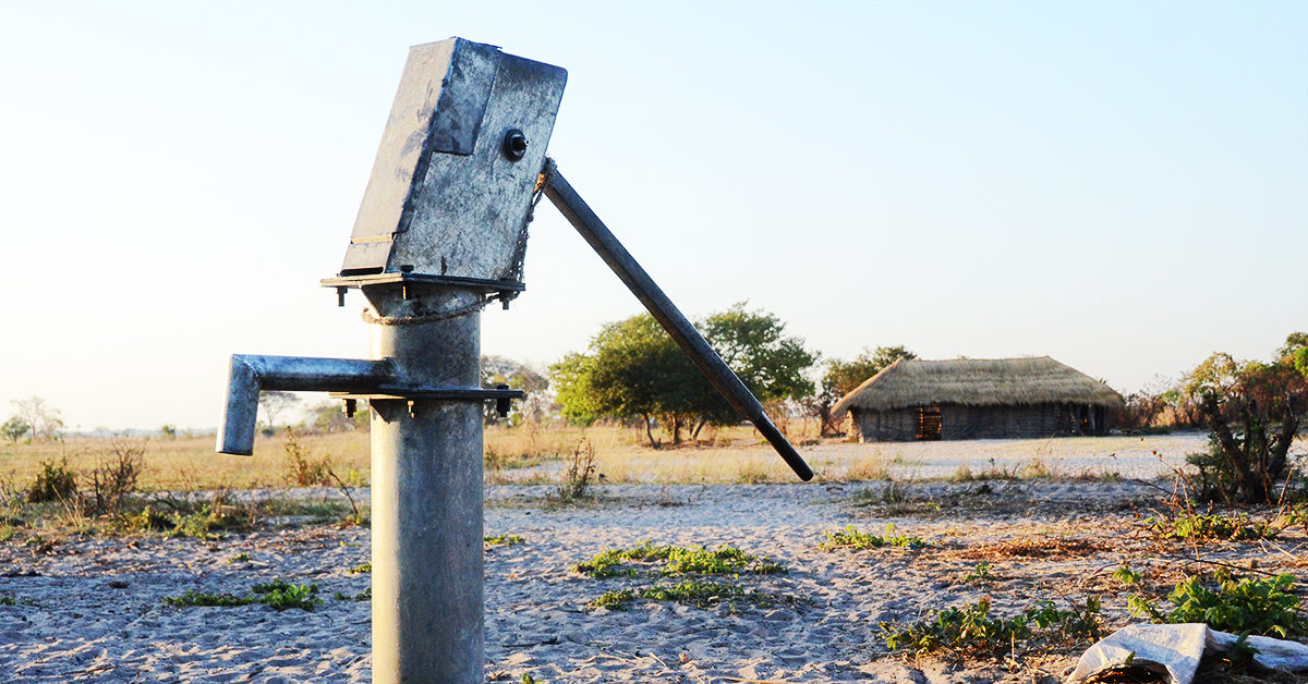 #cleansafewater, Clean water, water well, Zambia