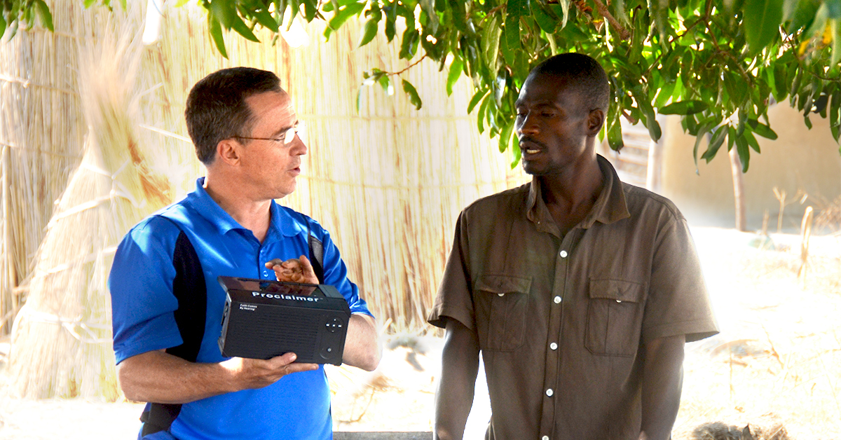 Zambia, Steve Evers, Proclaimer, Bible