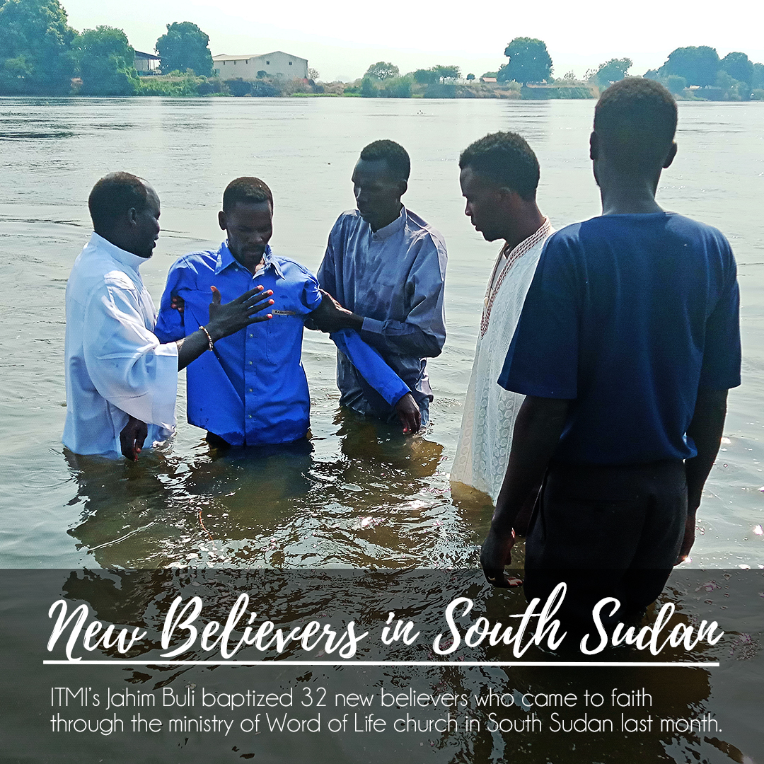 Jahim Buli, South Sudan, Baptism