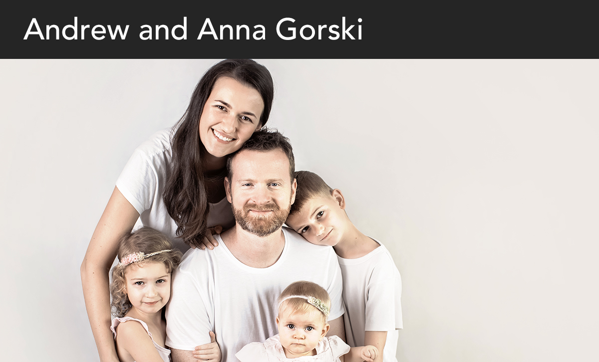 Donate, Andrew and Anna Gorski, Poland