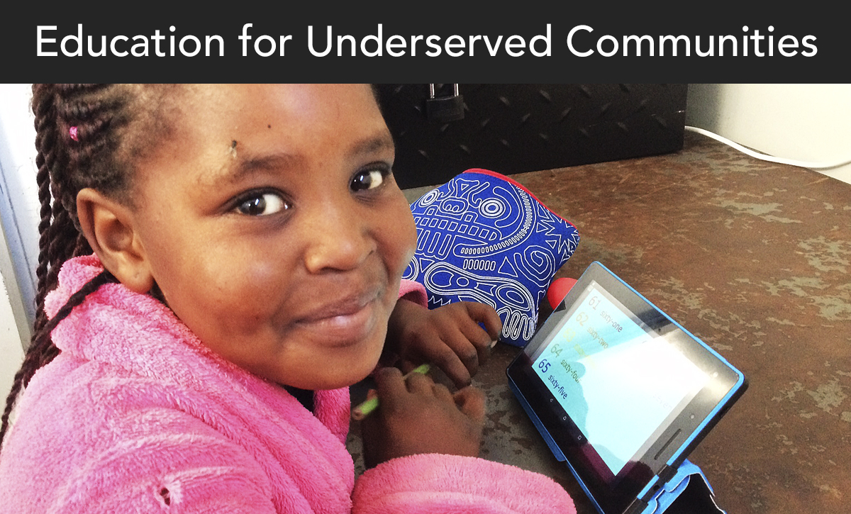 donate, education for underserved communities, south africa, tutoring
