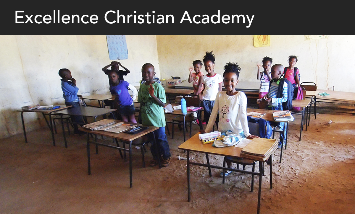 Donate, Excellence Christian Academy, ECA, Zambia