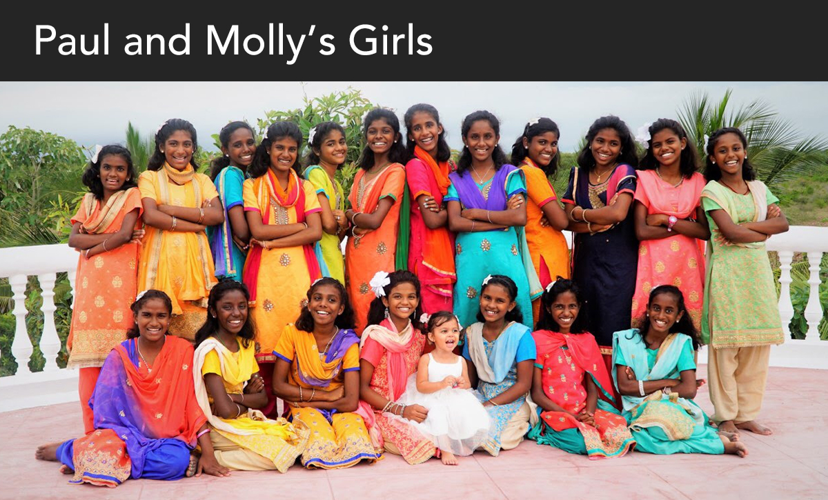 Donate, India, Paul and Mollys girls