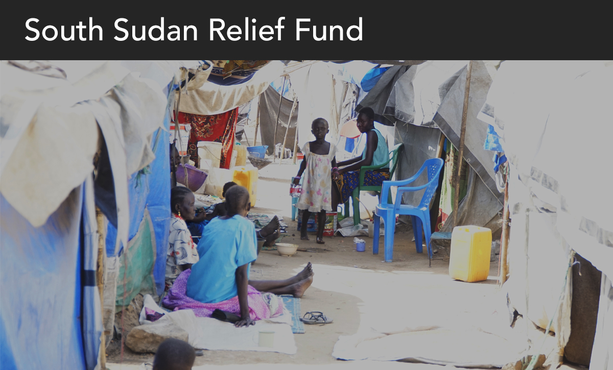 Sudan relief fund, south sudan, donate