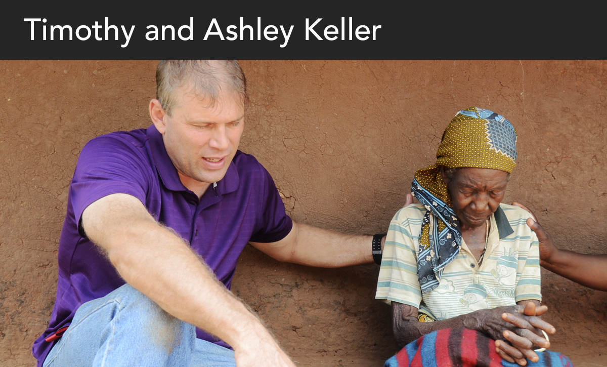 Donate, Timothy Keller, Tim Keller, Ashley and Timothy Keller, Ashley Keller, Zambia