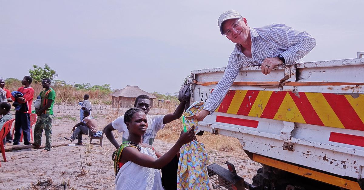 Steve Evers, Zambia