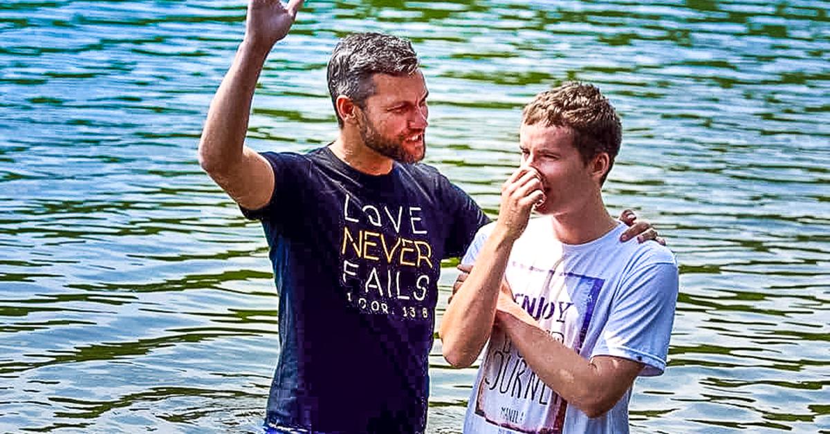 richard nungesser, baptism