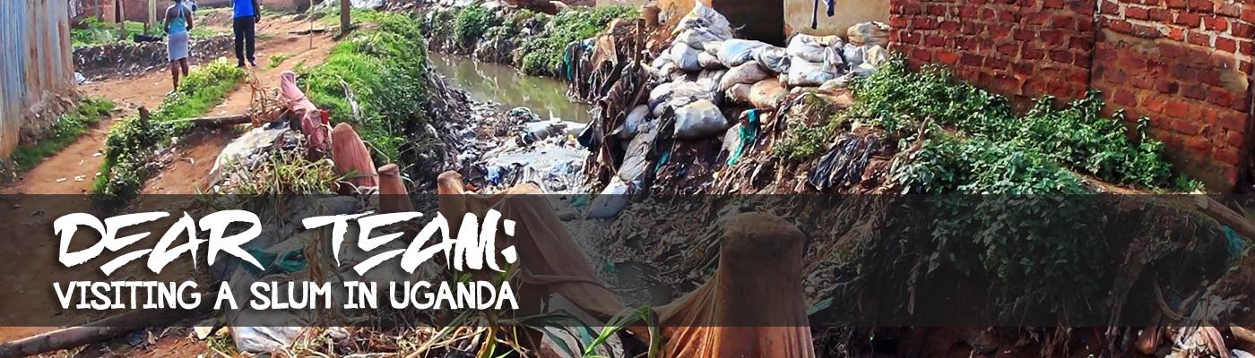 Slider, Uganda, Steve Evers, Dear Team