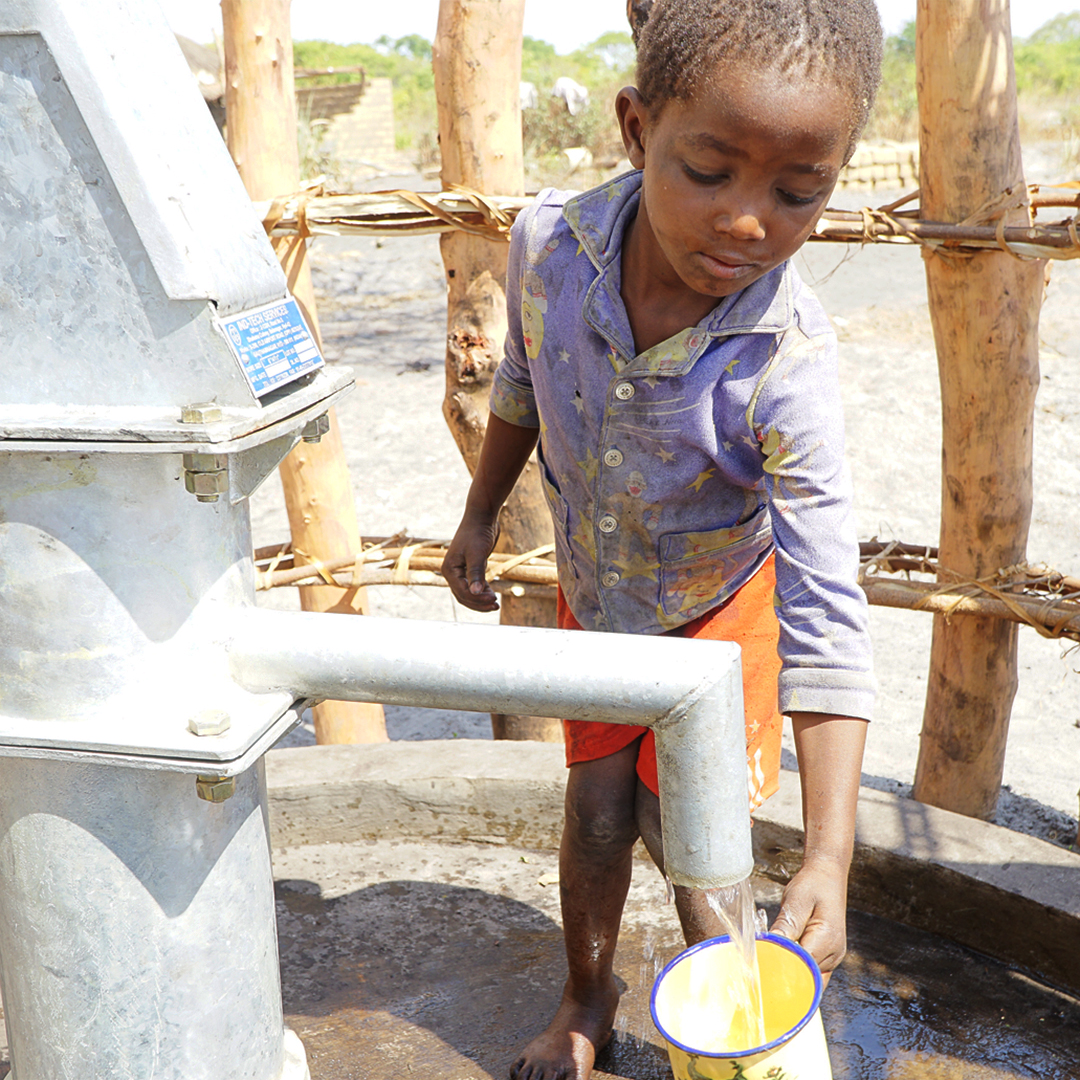 clean safe water project, zambia