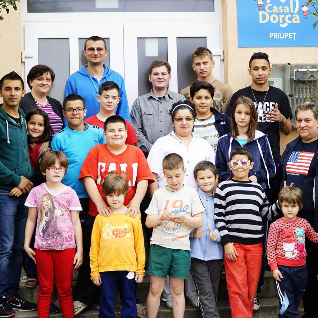 casa dorca children's home, romania