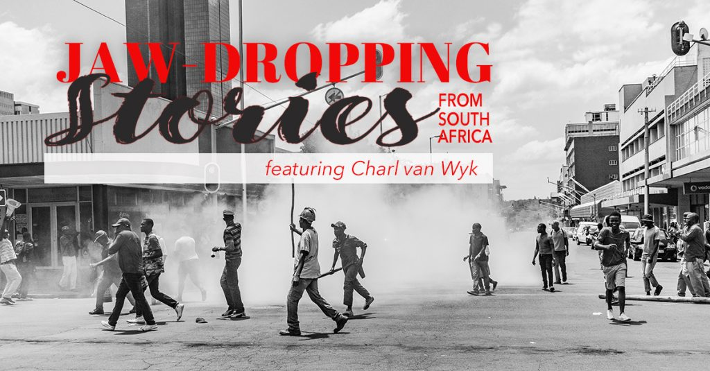 Podcast Episode: Jaw-Dropping Stories from South Africa featuring Charl van Wyk, South Africa, Charl van Wyk