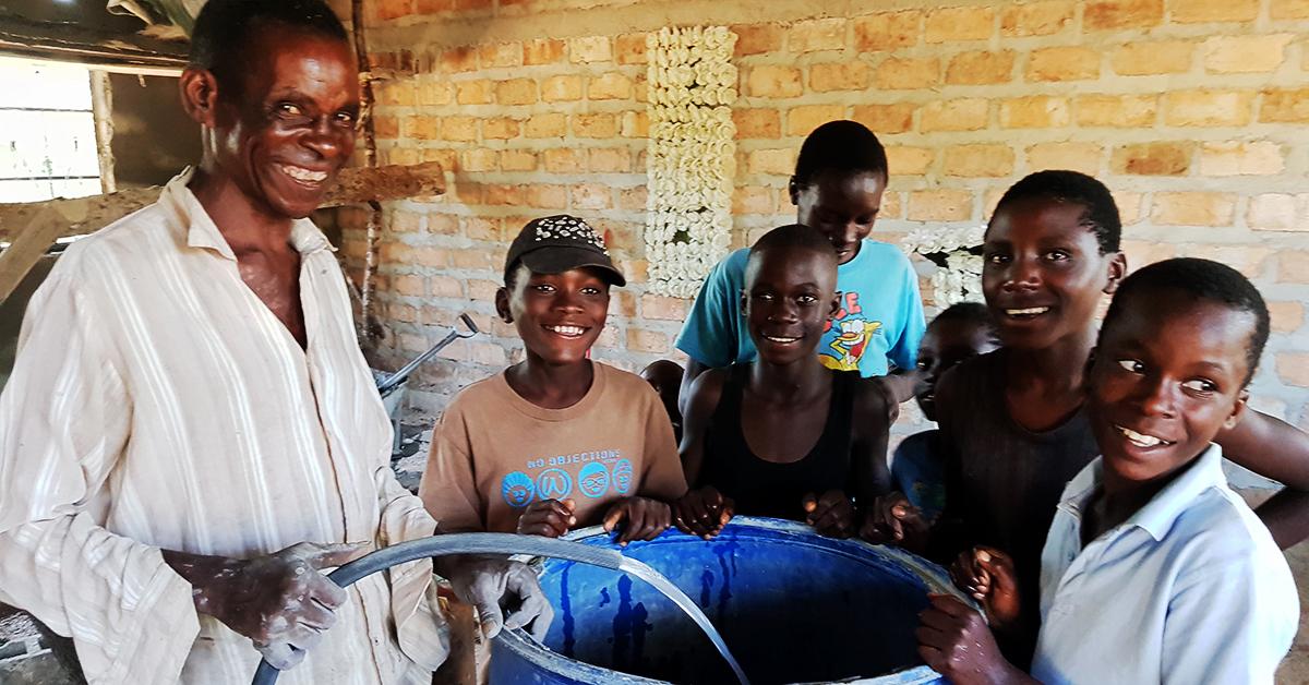 eca village school, zambia