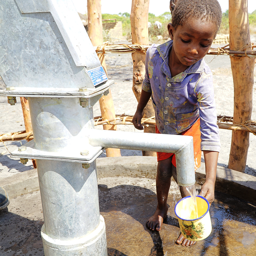 Water Well for a Remote Village in Zambia, Clean Safe Water Project