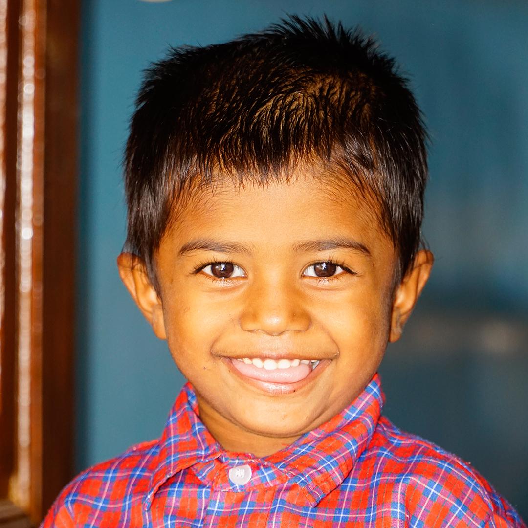 Christmas Catalog 2020, One Year Tuition for a disadvantaged child Deepam, Kumar, India