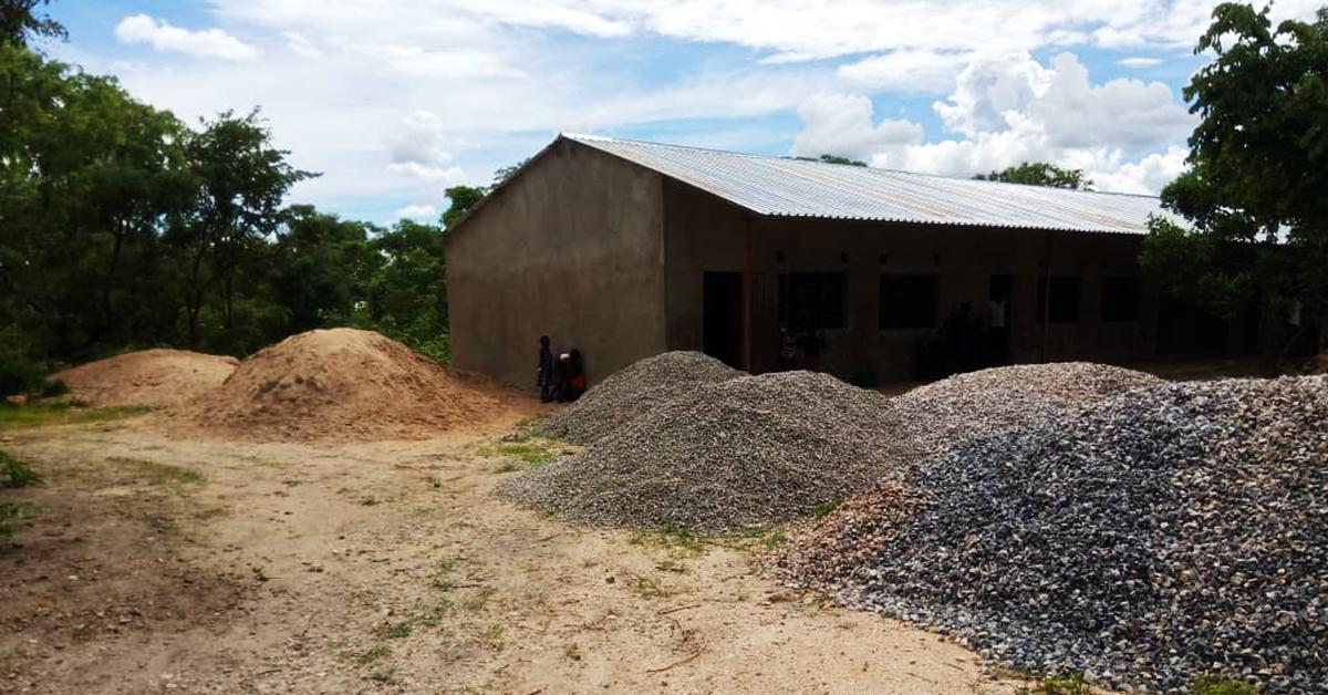 Lubemba village school, eca, zambia