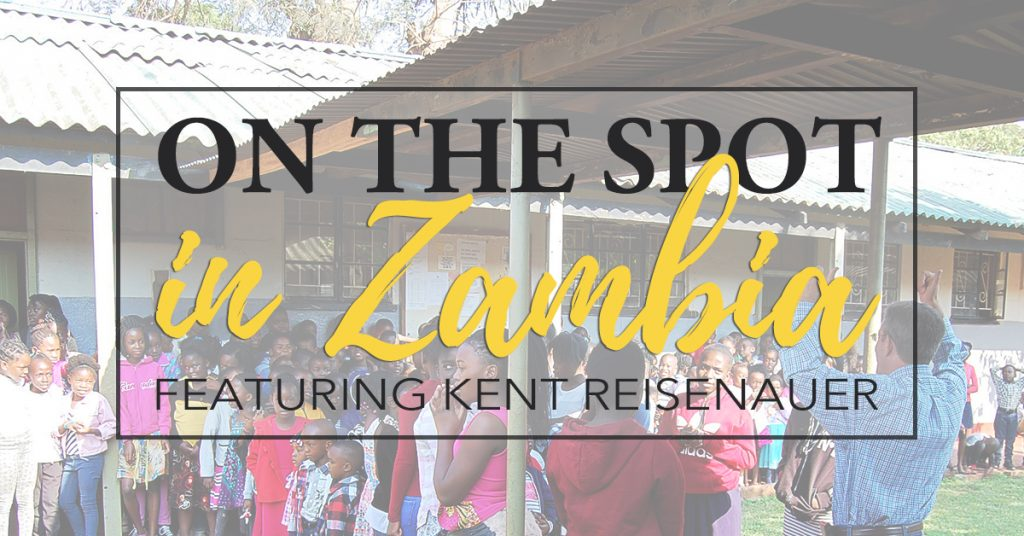 Kent Reisenauer, Zambia, South Africa, podcast