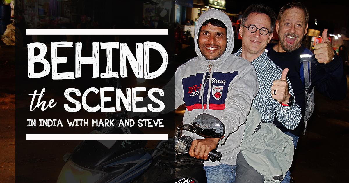 steve evers, mark burritt, india