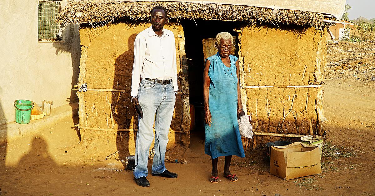 lazarus yezinai, south sudan, widow