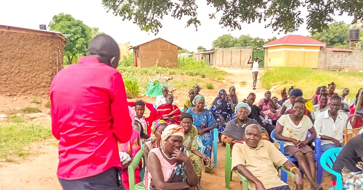 Lazarus Yezinai, South Sudan, Jerry Can, Project Joseph