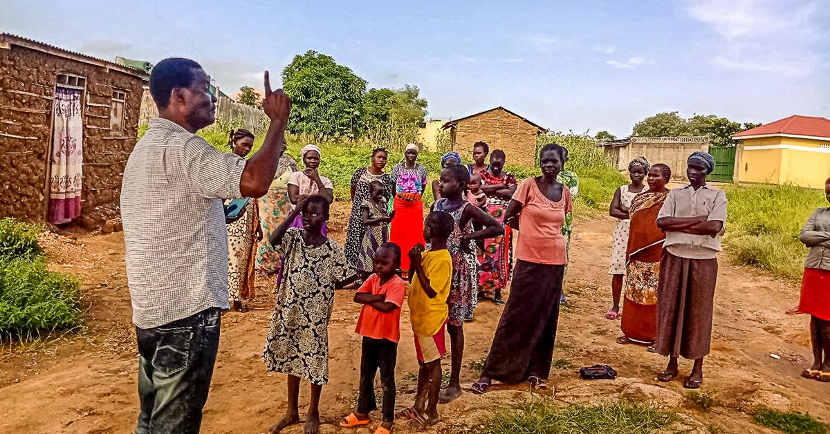 Lazarus Yezinai, South Sudan, Project Joseph, Jerry Can