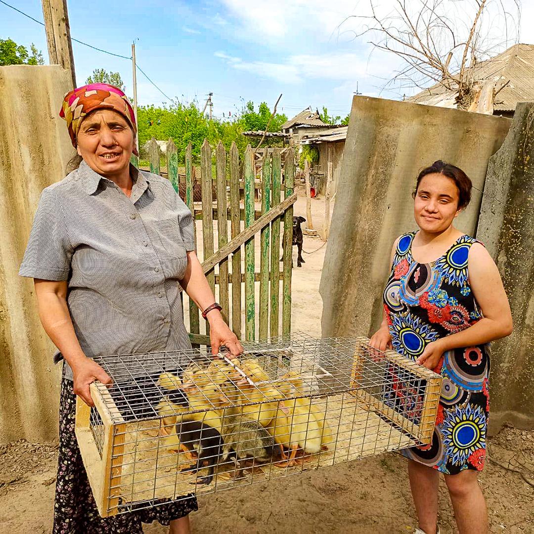 Ducks for an Impoverished Family, Moldova, Christmas Catalog 2020
