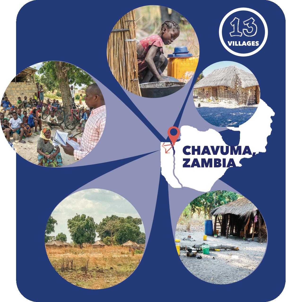Chavuma, Zambia, Leach