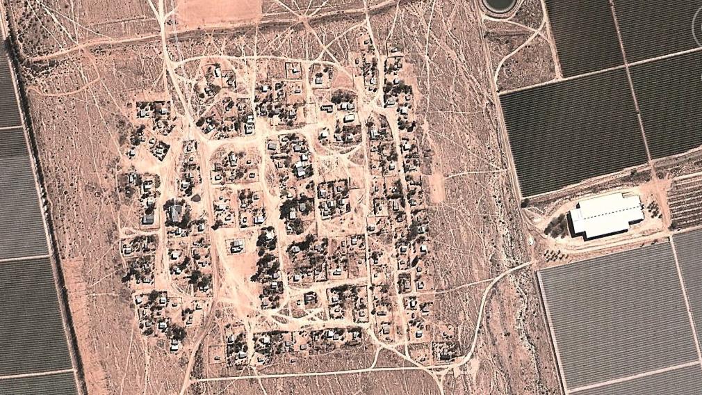 Onseepkans, South Africa, aerial