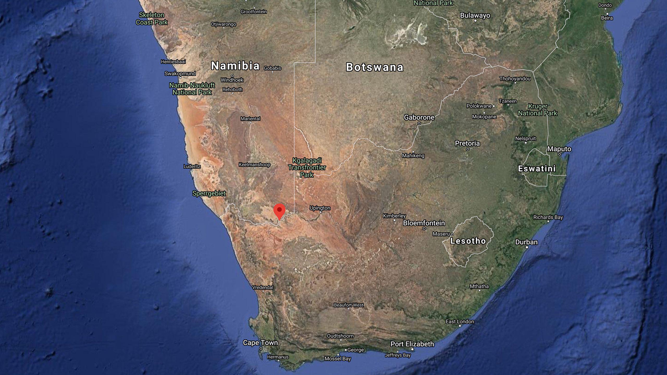 Onseepkans, South Africa