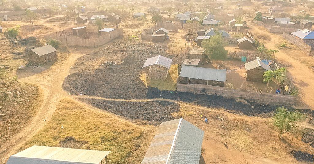 South Sudan, aerial