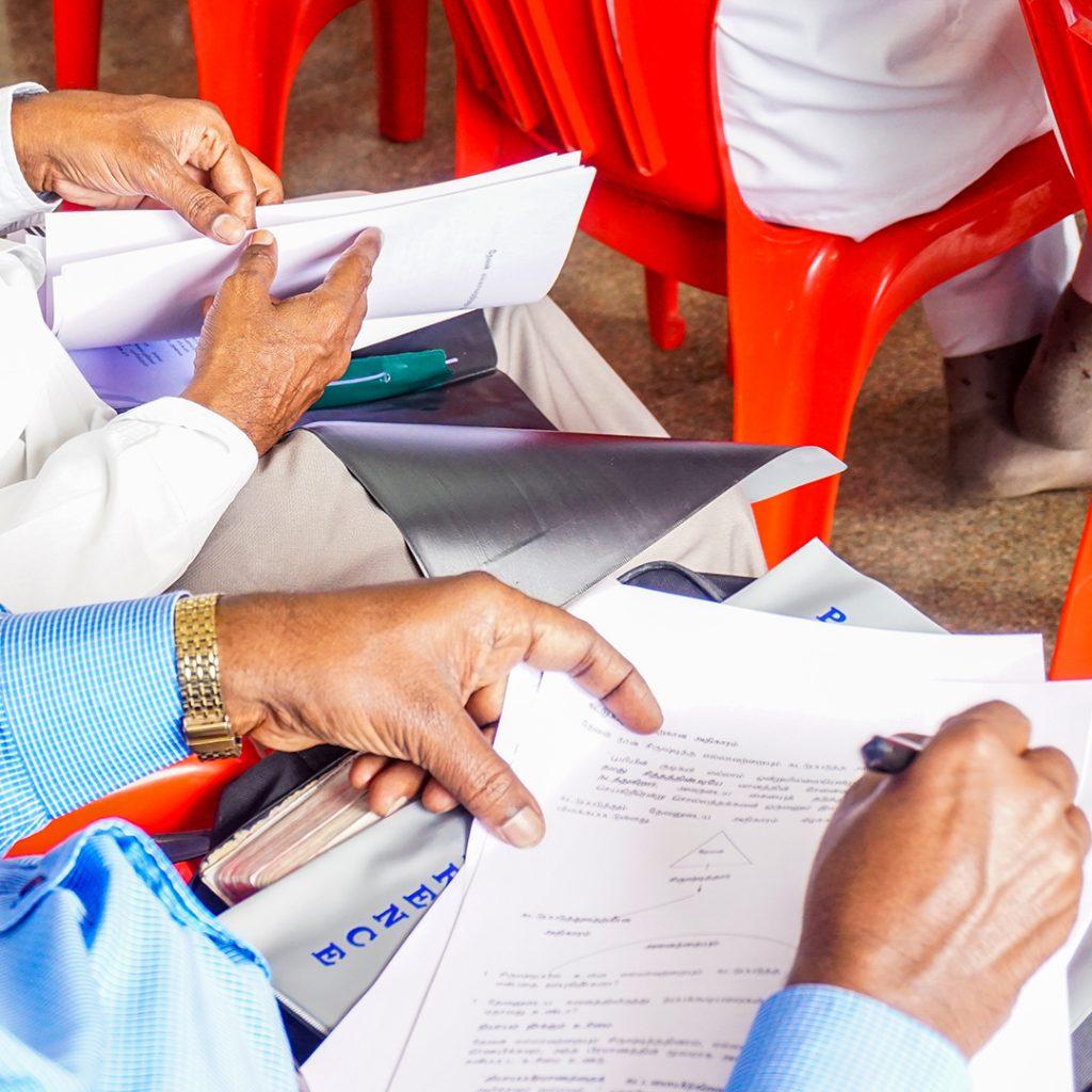 India, SALT training, SALT workbook, workbooks
