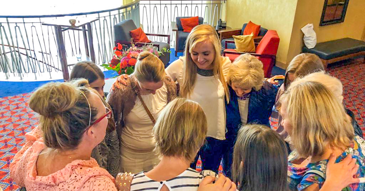 Monika Bacik, Brooke Nungesser, Poznan International Church
