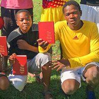 Printed Bibles, Zimbabwe