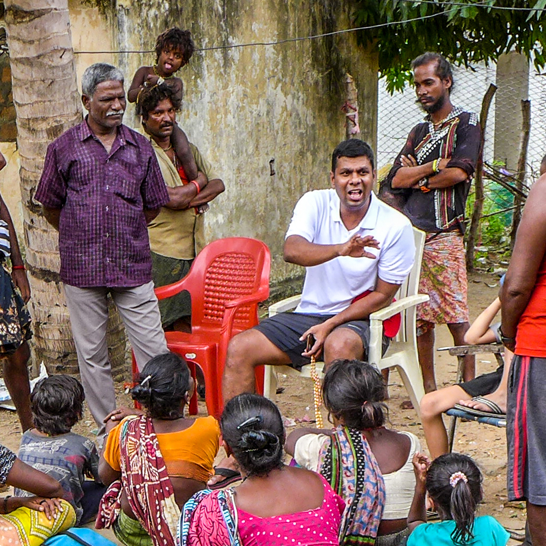 Paul, India, Relief, Evangelism