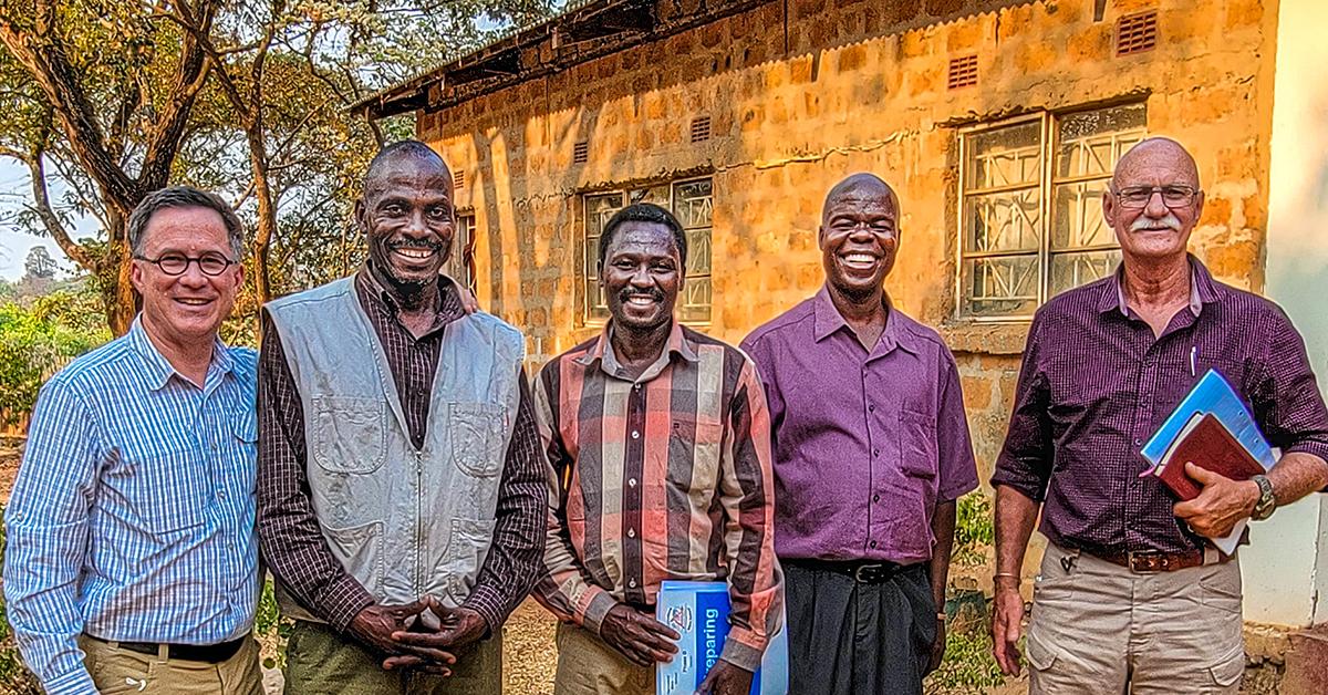 steve evers, johan leach, zambia